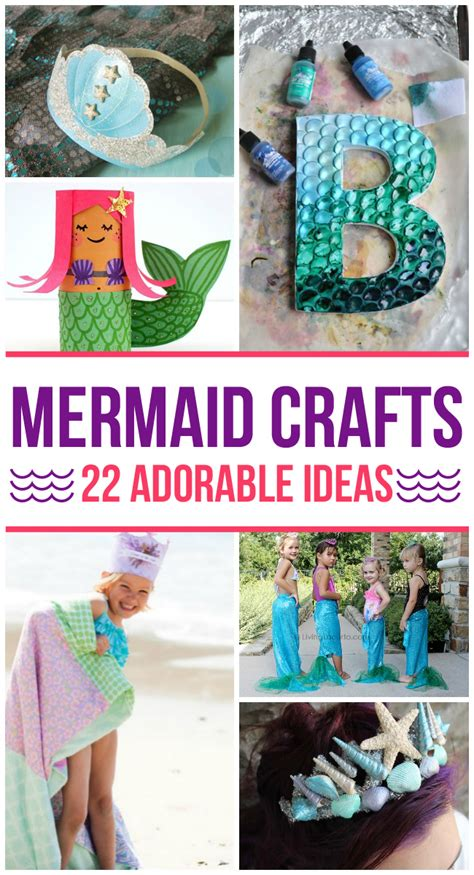 adorable mermaid crafts  kids