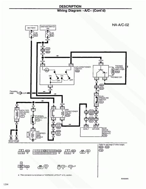 Simple Nissan Frontier Wiring Diagram