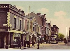 Old postcard of Georges St, Dun Laoghaire History of Dun
