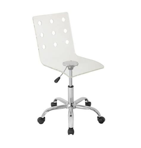 acrylic swivel desk chair more acrylic furniture finds for a sleek style
