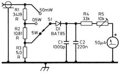 Electrical Wiring Diagram Dummy by Simple Dummy Load Rf Power Meter Radio