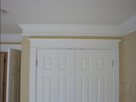 creative crown molding ideas house creative door trim and drill