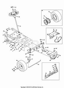 Mtd 13w2775s031 Lt4200   2013  Parts Diagram For Front End