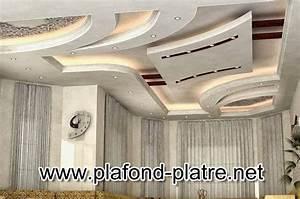 La Décoration De Plafond En Platre Suspendu Maroc Artisanat