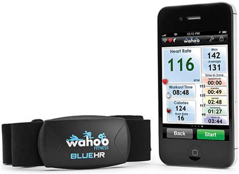 iphone rate monitor wahoo fitness intros blue hr rate monitor app for