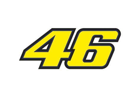 Valentino Rossi VR46 Moto GP 46 Moto Sticker Official New ...