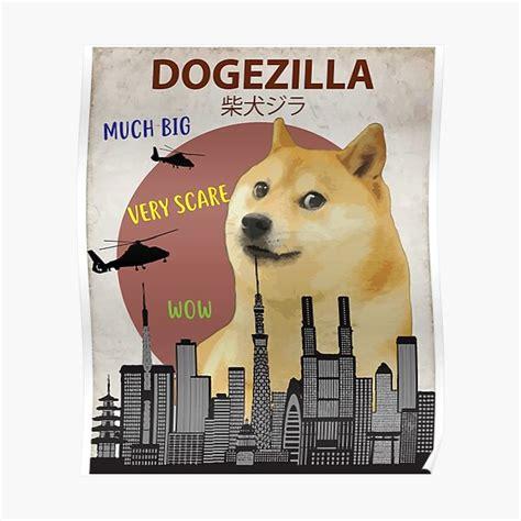 Doge Meme Posters | Redbubble