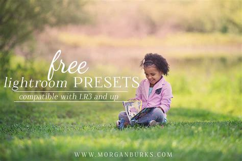 Free light soft lightroom preset. Free Lightroom Presets for LR3 and up - Morgan Burks