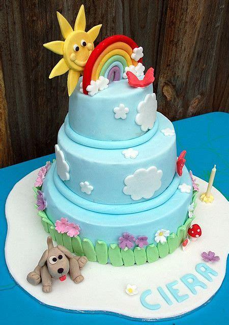 rainbow cake cieras st birthday   rainbow