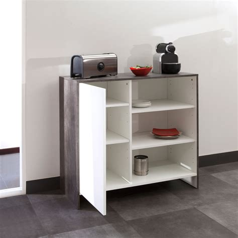 porte de cuisine en bois meuble bas de cuisine en bois 1 porte 3 niches edgar