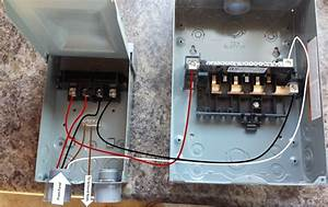 Help With Sub Panel And Disconnect Wiring