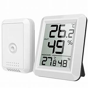 Top 10 Best Indoor Outdoor Thermometers In 2020