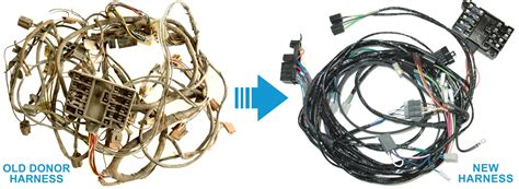 1950 Cadillac Reproduction Wiring Harnes by Exact Oem Reproduction Wiring Harnesses For Classic