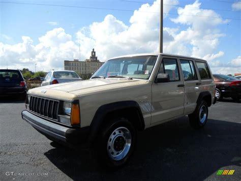 beige jeep cherokee 1989 sand beige jeep cherokee 28528095 gtcarlot com