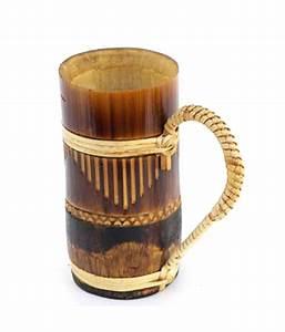 Asaram Handicrafts Bamboo Cup Set of 2: Buy Asaram