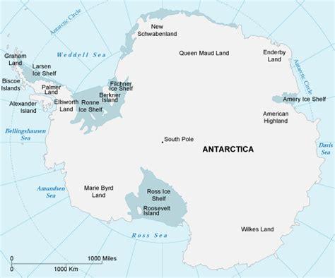 map  antarctica antarctica maps  geography