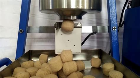 Mini Dough ball cutting machine. Table top model.   YouTube