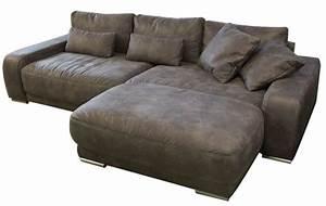 Sofa Mit Breiter Sitzfläche : ecksofa mit schlaffunktion und bettkasten g nstig im sofadepot ~ Bigdaddyawards.com Haus und Dekorationen