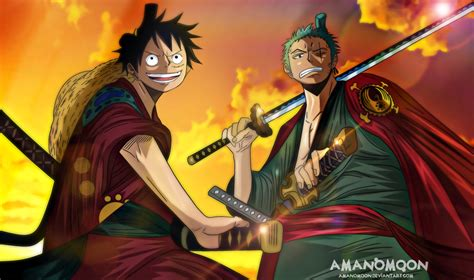 Anime, one piece, dracule mihawk, one person, occupation, real people. Wallpaper Hd One Piece Zoro Wano - Wallpaper Images Android PC HD
