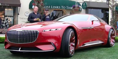 The Mercedes-maybach Vision 6 Concept Car Is Actually A
