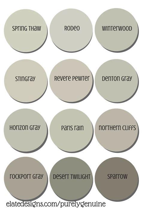 best neutral paint colors grays paint colors