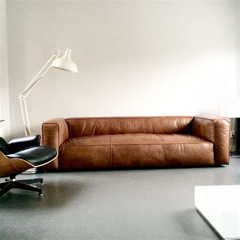 Leather Sofa Contemporary Design by This Vintage Design Leather Sofa Cognac Sofa