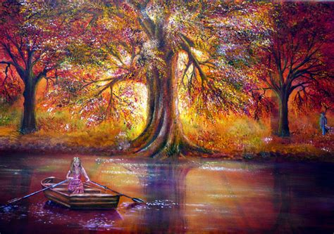 Art Landscape Nature Photo Set Paintings Englishsnow •