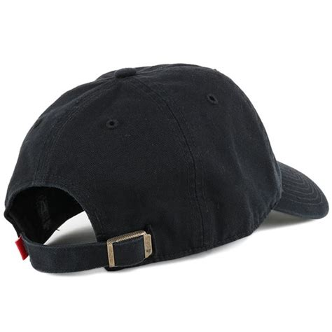 liverpool fc liverbird clean  black adjustable