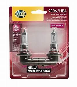 Hella 100  80wtb Wattage 80w High Wattage H4 Bulbs  12v
