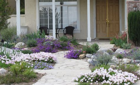 water wise front yard landscape orange county by