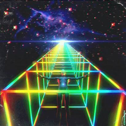 Retro Aesthetic Gifs Vaporwave Kidmograph Trippy Dmt