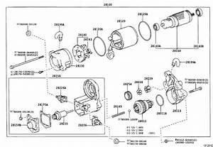 2004 Toyota Sequoia Starter Solenoid  Switch  Magnet Starter  Switch  Main