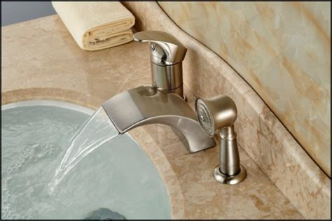 Moen Kitchen Faucets Brushed Nickel by The Way To Clean Moen Brushed Nickel Kitchen Faucet