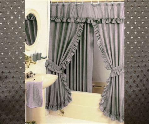 swag shower curtains furniture ideas deltaangelgroup