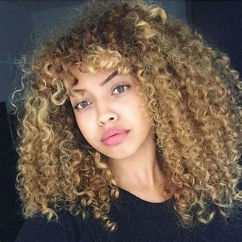 Curly Mixed Race Hairstyles by Image Result For Highlights On Brown Hair Mixed