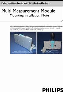Philips Mnt208 M8000 9490b User Manual Installation Note