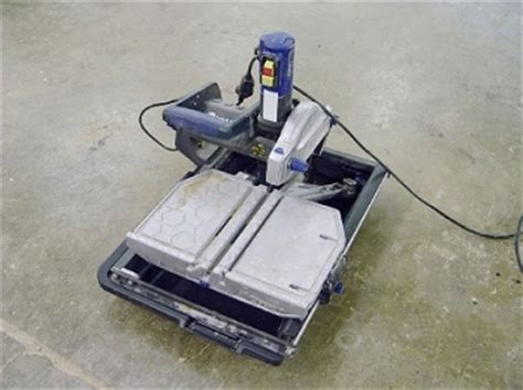 Kobalt 10 Inch Tile Saw by Irs Auctions Lot Listing