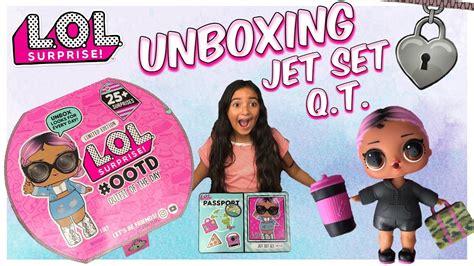 lol surprise jet set qt unboxing lol advent calendar