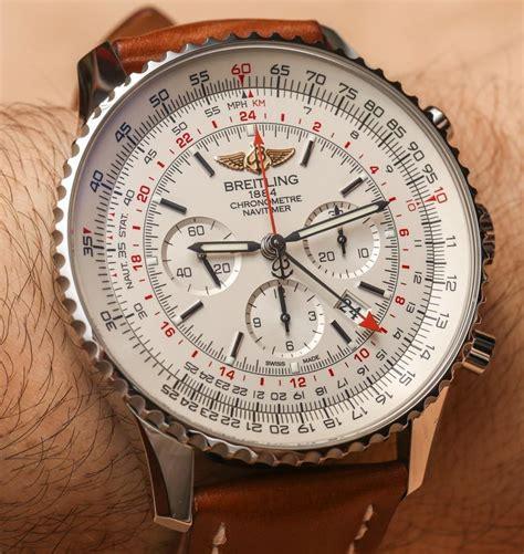 Breitling Navitimer GMT 48mm Watch Hands On   aBlogtoWatch
