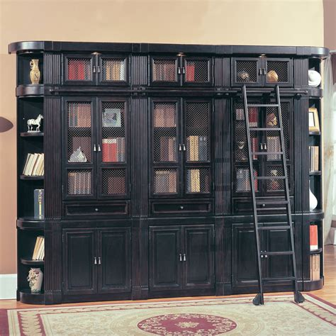 Parker House Oxford Wood Bookcase Wall  Large At Hayneedle