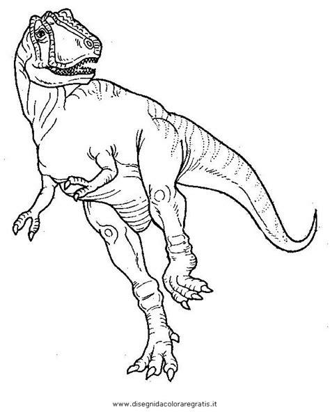disegno albertosauro animali da colorare