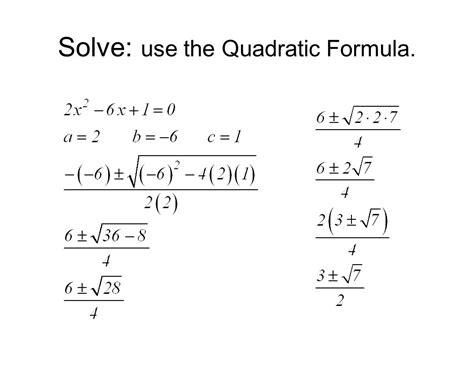 Quadratic Equations Msjc  San Jacinto Campus  Ppt Video Online Download