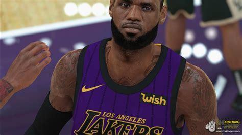 LeBron James HD Cyberface V 2.0 by Torogi - NBA 2K19