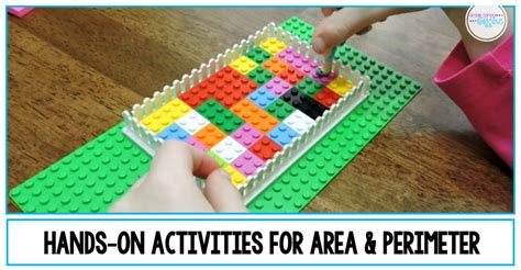 area  perimeter hands  lesson ideas   fun
