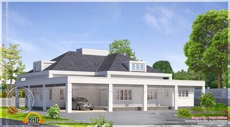 single floor european model house indian plans home