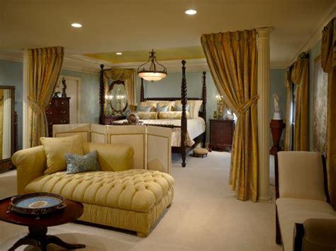 luxurious master bedroom hgtv