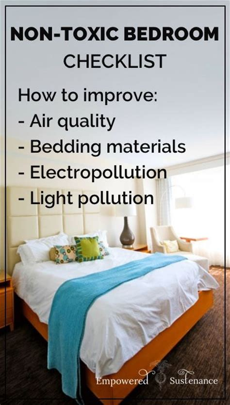Tips For Detoxing Your Bedroom  Good To Know! Includes