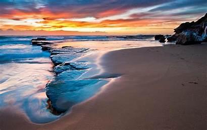 Beach Beaches Nature Sunset National Geographic Sky