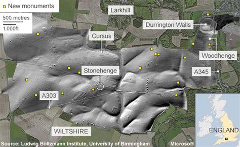 Stonehenge Secrets Revealed By Underground Map  Bbc News