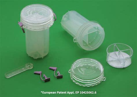 test antidoping contenitore brevettato per la raccolta delle urine per